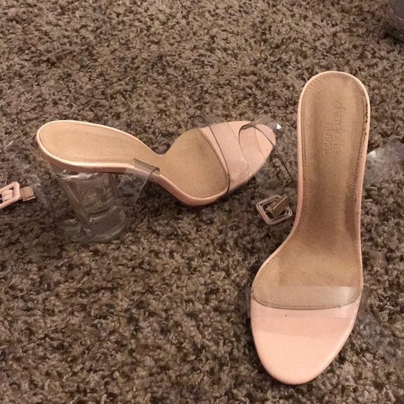 279dee0f87a Clear heels from Charlotte Russe